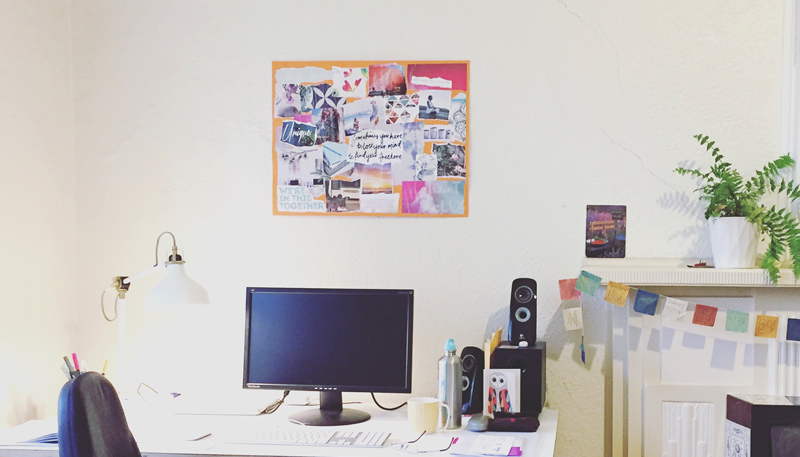 website vision board