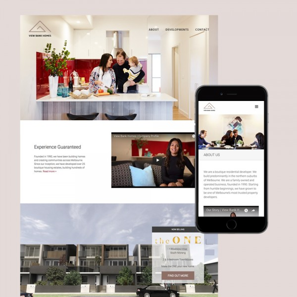 view bank homes website