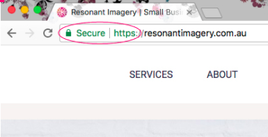 how to secure my website