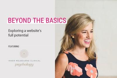 beyond website basics inner melb psychology