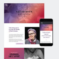 sheridon byrne web design
